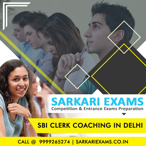 Bank Clerk Coaching in Delhi